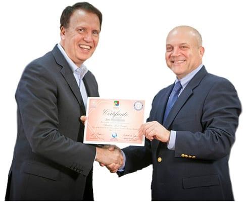 disc certification award
