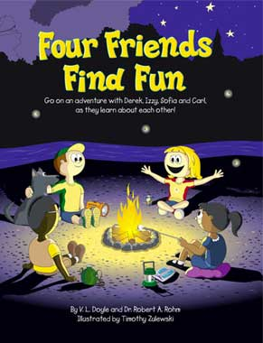 Four Friends Find Fun