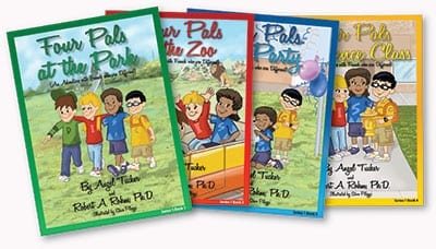 Four Pals Series of Books (4 Book Set)