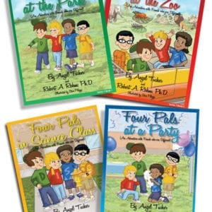 Four Pals Mini Series – (4 Small Books)