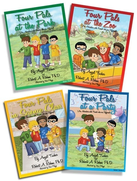 Four Pals Mini Series - (4 Small Books)