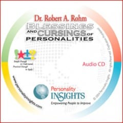 Blessings And Cursings Of Personalities CD & PQ Guide Packet
