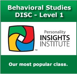 DISC Certification Level 1