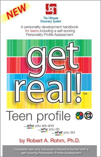 """Teen DISC Assessment booklet – """"Get Real"""" Personality Profile"""