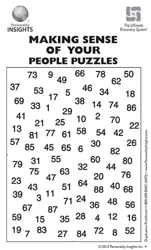 Making Sense Of Your People Puzzle DVD – Mini Companion Guide (single)