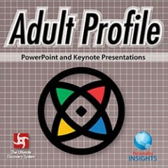 Power Point & Keynote Presentation For English Adult Profile Assessment
