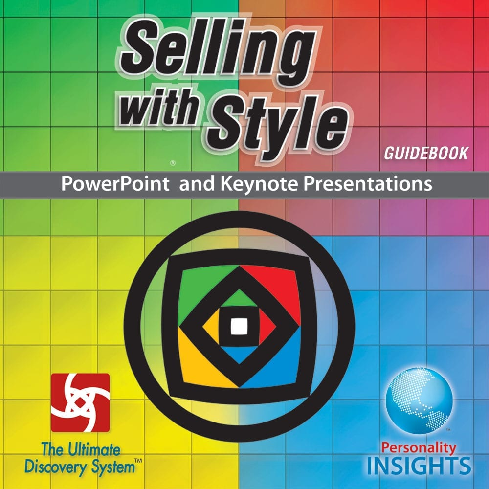 PowerPoint And Keynote CD For Selling With Style Booklet