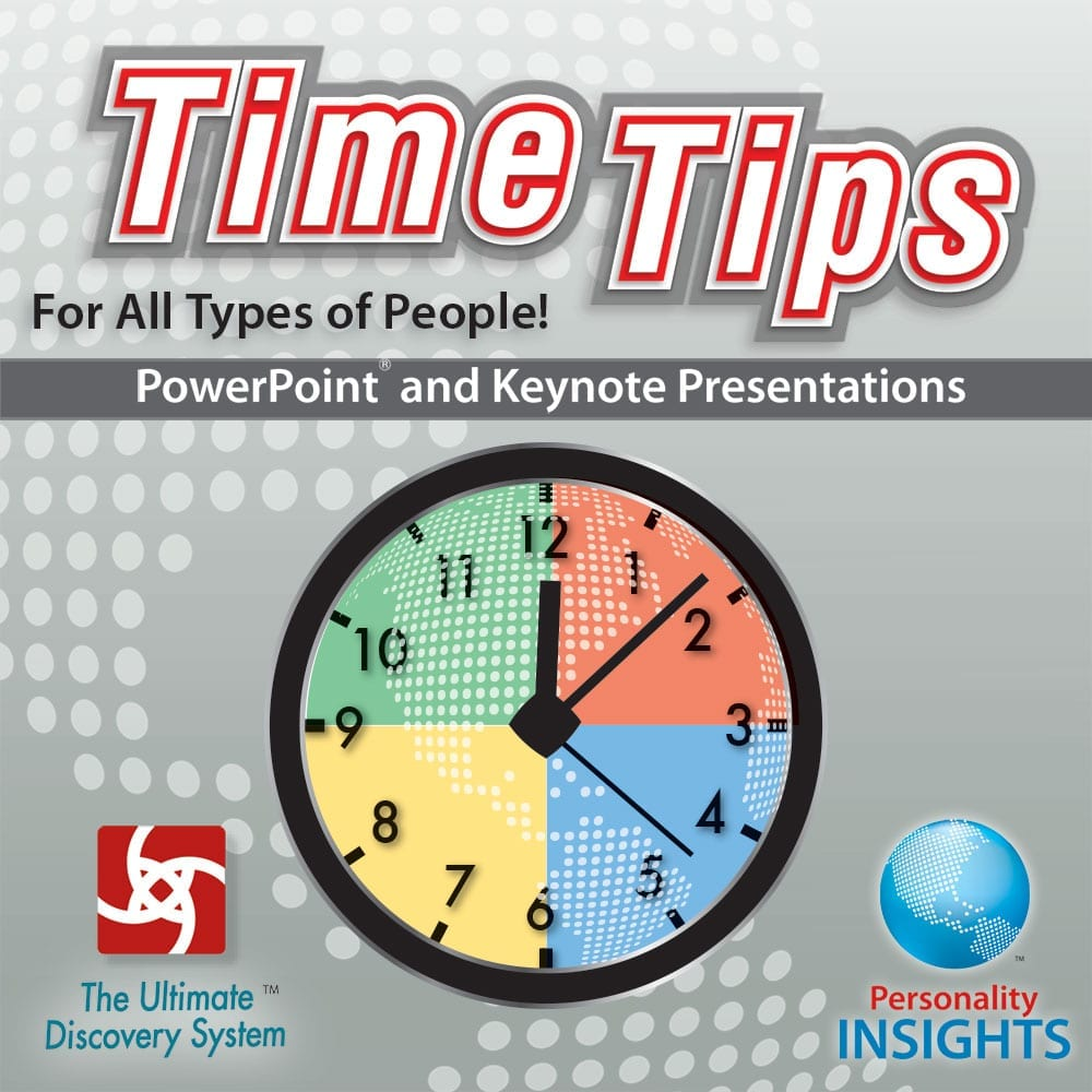 PowerPoint And Keynote CD For Time Tips Booklet