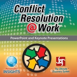Power Point & Keynote Presentation For English Conflict Resolution