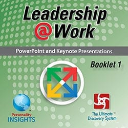 Power Point & Keynote Presentation For English Leadership @ Work Booklet 1