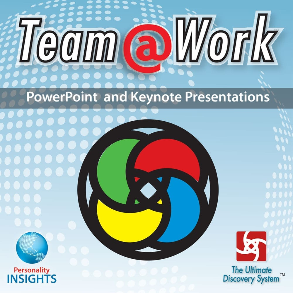 PowerPoint And Keynote CD For Team @ Work Booklet