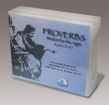 Proverbs Study Series - (17 Audio CD's Box Set) Of 32 Sessions