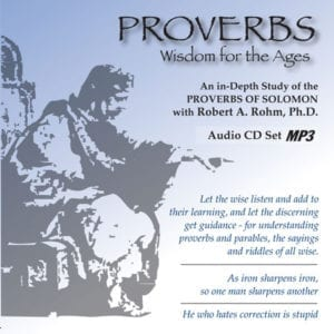 Proverbs Study Series – (MP3 Format CD)