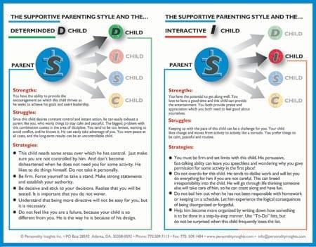 "Flip Chart:  Parenting - Single ""S"" Chart"
