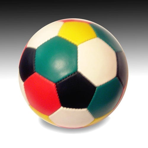 Wordless Soccer Ball (Each Ball Comes With One Gospel Tract.)