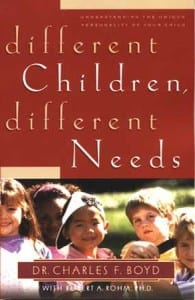 different children different needs