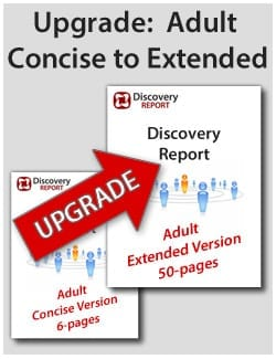Upgrade From Mini/Concise To Extended Length Discovery Report (from 6 Pages To 50 Pages)