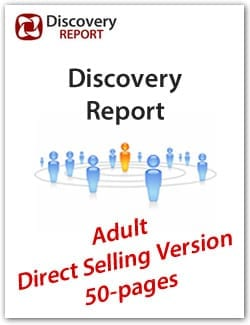 Adult DISC Personality Profile, Direct Sales Version (50-pages), English Discovery Report