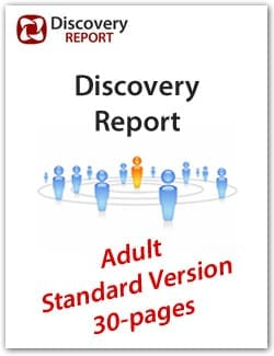 Adult DISC Personality Profile, Standard Version (30-pages), English Discovery Report