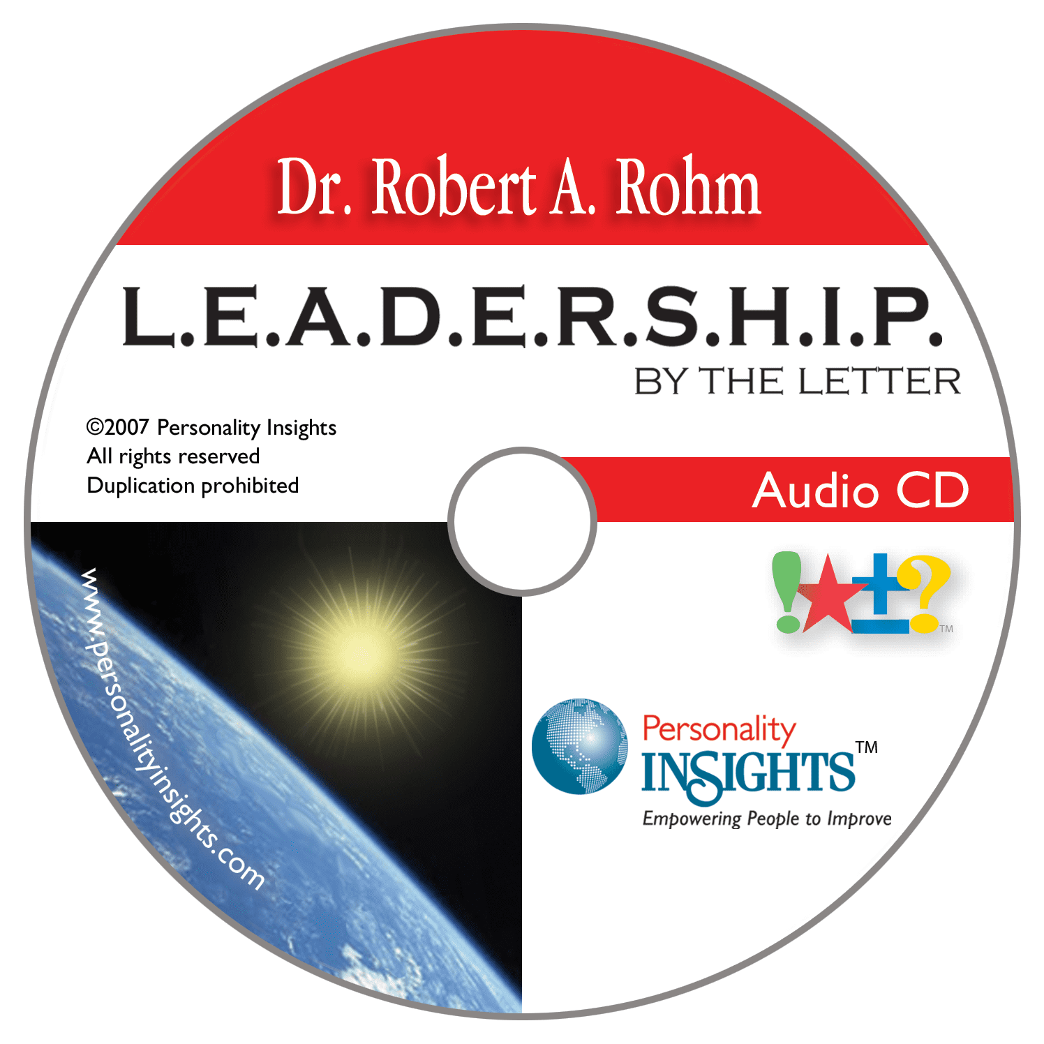 Leadership Audio CD