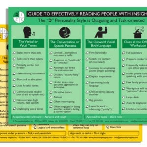 Guide to Effectively Reading People Flip Charts (Set of 2)