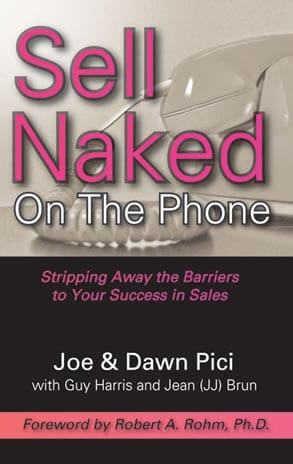 Sell Naked On The Phone - Joe Pici - Softcover