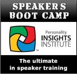 Speakers Boot Camp Training