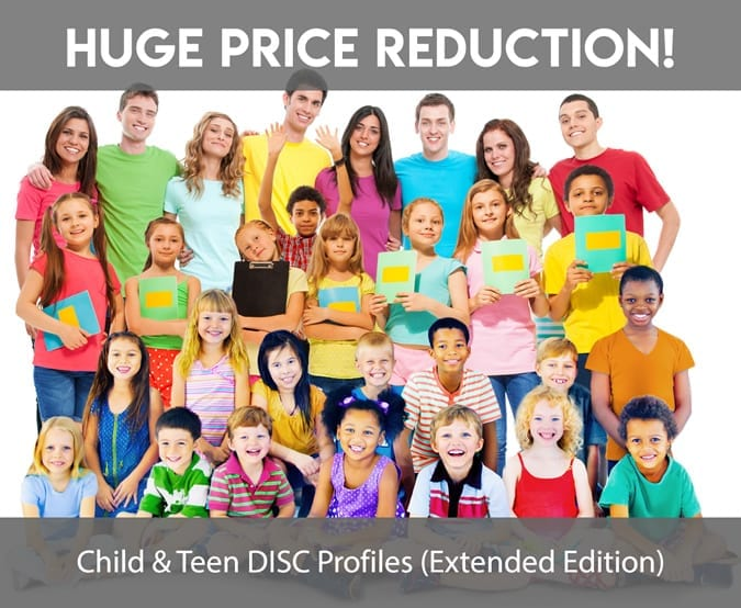 Price reduction announced for teen and child disc profiles