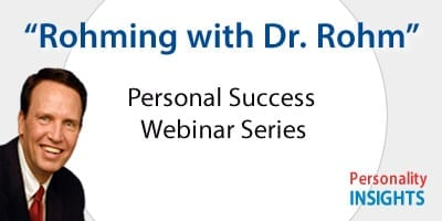 Rohming with Dr. Rohm - webinar series