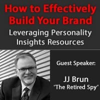 Webinar: How to effectively build your brand - JJ Brun