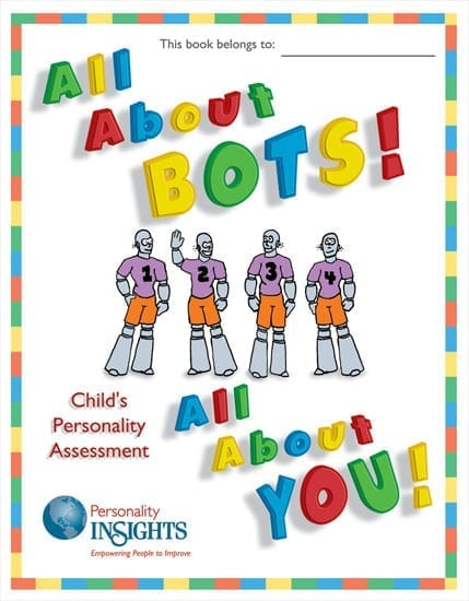 BOTS DISC assessment booklet for children