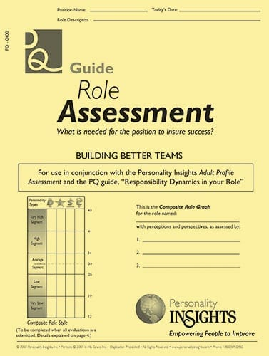role assessment - PQ guide