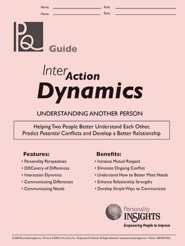 InterAction Dynamics PQ guide