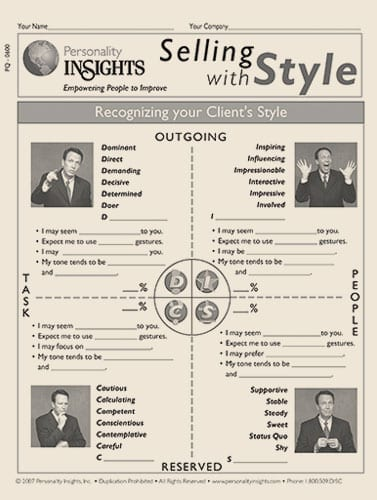 selling with style - PQ guide