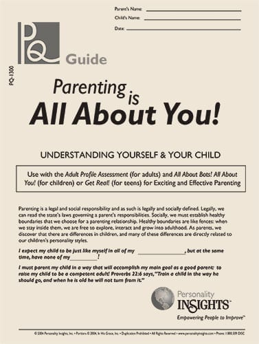parenting is all about you - PQ guide