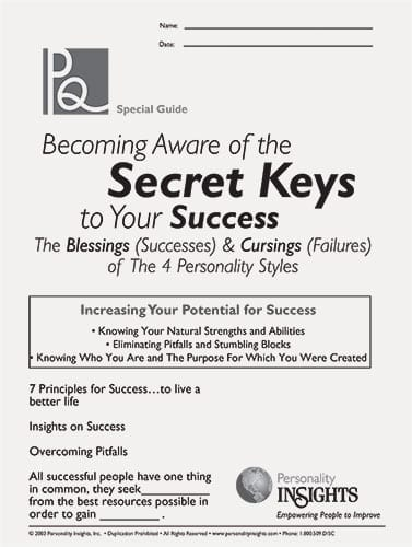 secret keys to success (blessings and cursings (PQ-guide)
