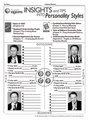 insights and tips to personality styles (PQ guide)