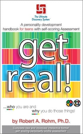 "Teen DISC Assessment Booklet – ""Get Real"" Personality Profile – OUT OF STOCK"