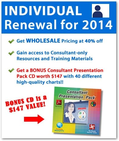 Consultant renewal