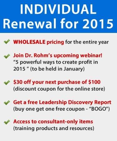 consultant renewal - INDIVIDUAL