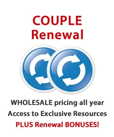 Consultant Renewal 2015 – COUPLE ($157)