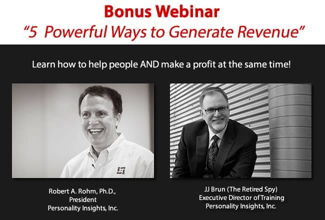 webinar - how to generate revenue