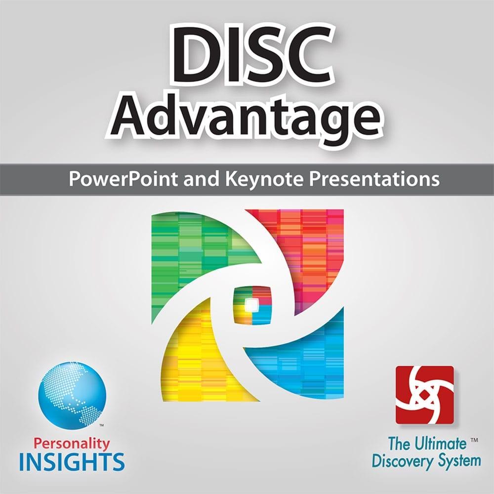Power Point & Keynote Presentation For DISC Advantage
