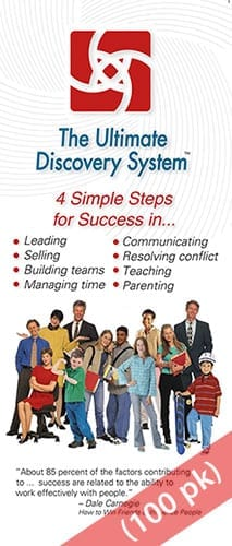 The Ultimate Discovery System - Brochure (100 pack)