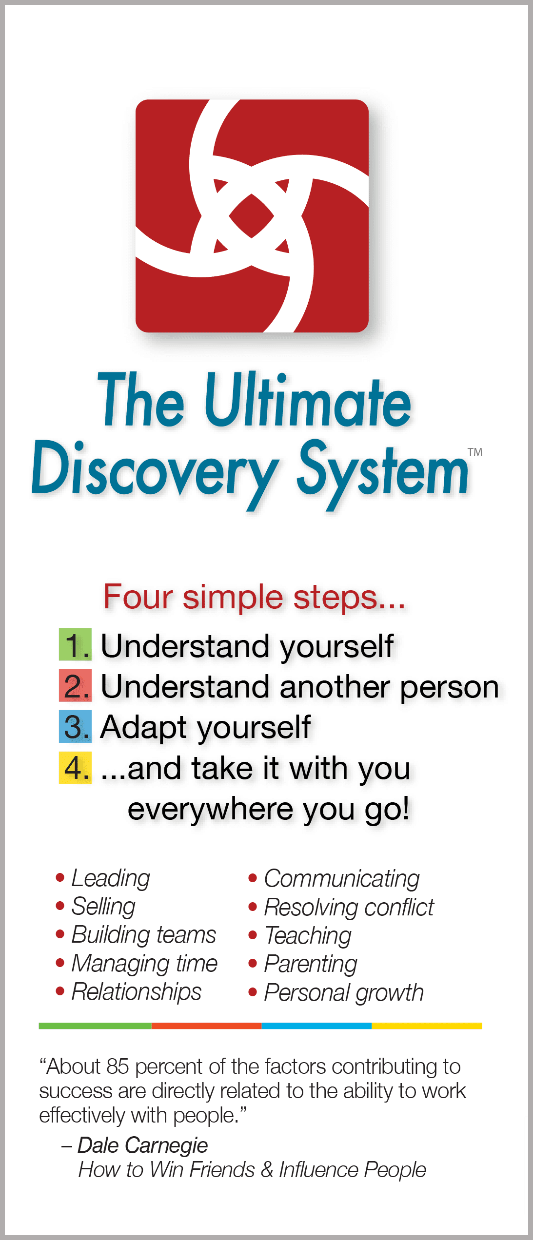 The Ultimate Discovery System – Brochure