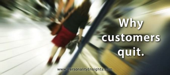 tip: why customers quit