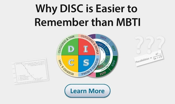 disc is easier than mbti