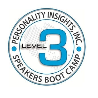 Speakers Boot Camp - Level 3 training