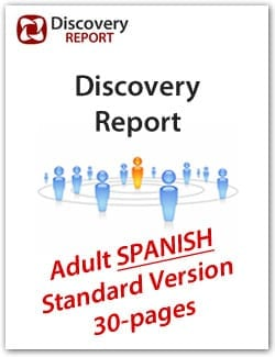 SPANISH – Adult DISC Personality Profile, Standard Version (30-pages), Discovery Report