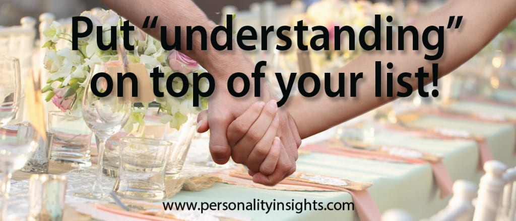 "Tip: Put ""understanding"" on the top of your list!"